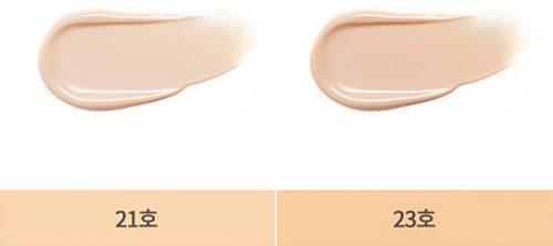 Phấn nước Missha Velvet Tint với 2 tone màu