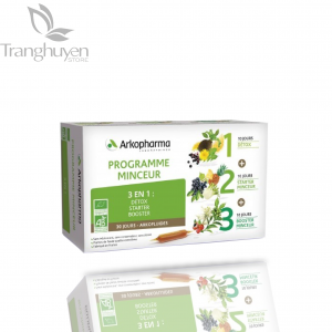 Detox thải độc, giảm cân Arkopharma Programme Minceur