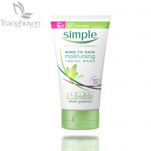Sữa rửa mặt Simple Kind To Skin Moisturising