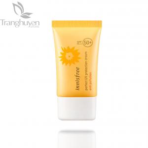 Kem Chống Nắng, Chống Tác Nhân Gây Hại Từ Ô Nhiễm Môi Trường Innisfree Perfect UV Protection Cream Anti Pollution SPF50+ PA++++