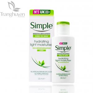 Sữa Dưỡng Ẩm Cho Da Nhạy Cảm Simple Hydrating Light Moisturiser