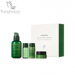 Set Trà Xanh Innisfree Green Tea Seed Serum Special Set [NEW 2019]