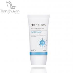 Kem chống nắng A'pieu Pure Block Natural Waterproof Sun Cream