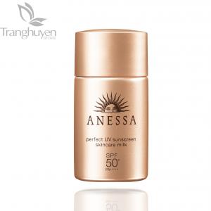 Kem chống nắng Shiseido Anessa Perfect UV Sunscreen Skincare Milk SPF50+
