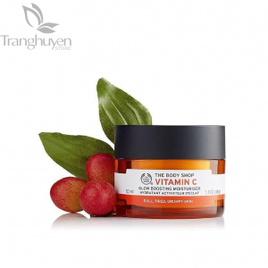 Kem Dưỡng Sáng Da The Body Shop Vitamin C Glow Boosting Moisturiser Cream